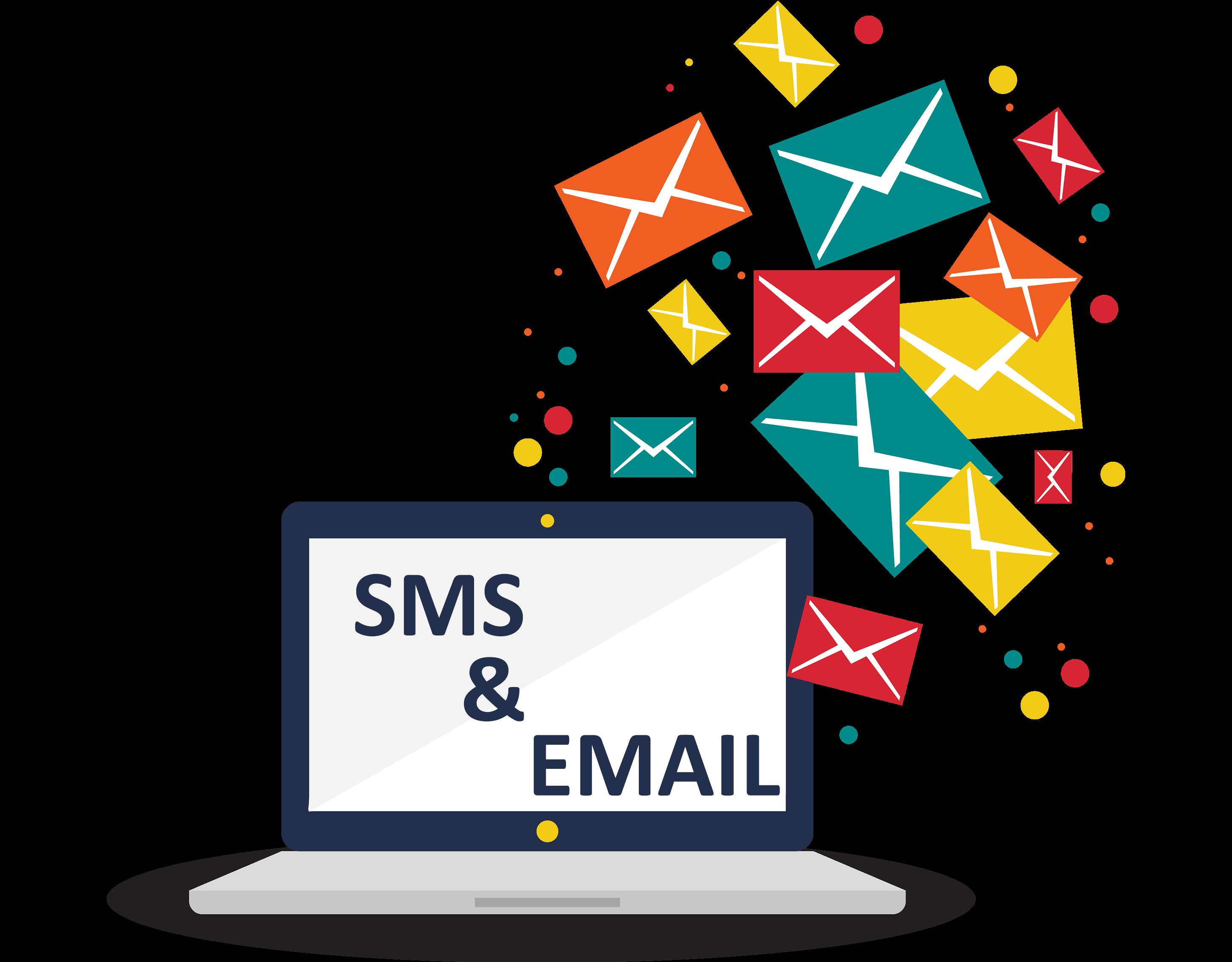 email và sms