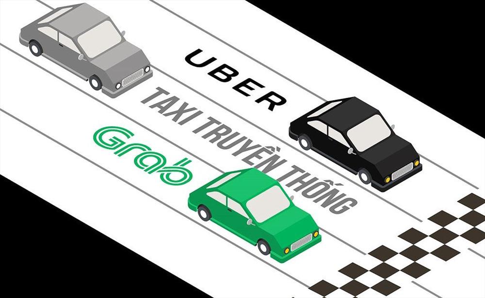 grab vs vinasun - taxi truyền thống